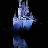 Cinderella's Castle at Christmas