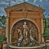 Replica of Tivoli Fountain Segment at Epcot