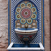 Mosaic water fountain in the Morocco Pavilion