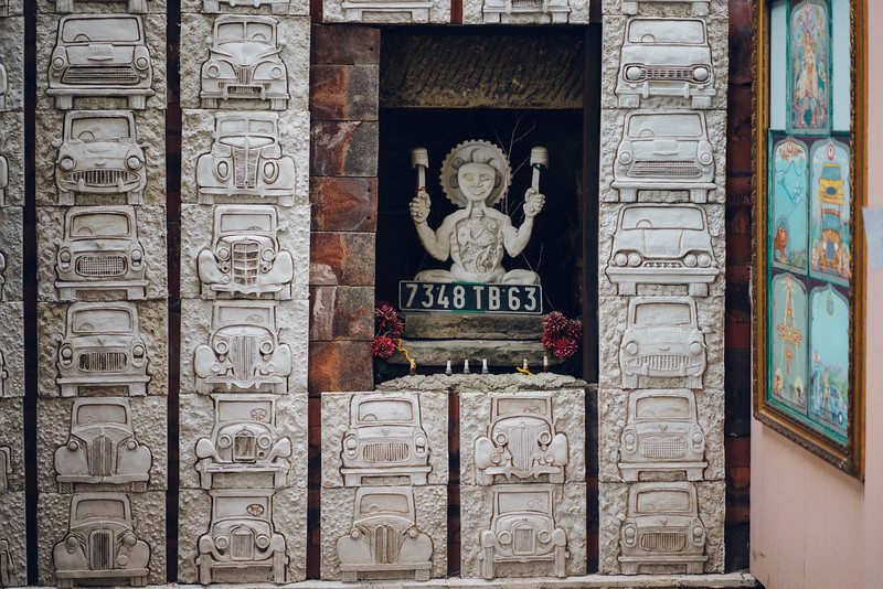 temple to the sacred automobile