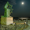"""Super Moon and the Fishermen's Monument"""