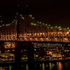 """Illuminated -59th Street Bridge"""
