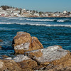 """Winter Surf at Good Harbor Beach"""