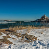 """Snow and Surf at Good Harbor Beach"""
