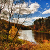 """Along the Housatonic River"" - in HDR - Stockbridge, MA"