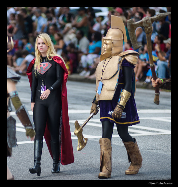 DragonCon 2013 - Parade