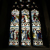 Stained glass window St Patricks Cathedral Dublin Ireland