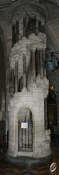Spiral Stairs St Patricks Cathedral Dublin Ireland