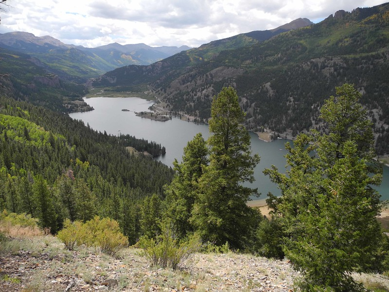 13 Lake San Cristobal, 2nd largest natural lake in Colorado, near Lake City