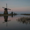 Kinderdijk evening glow