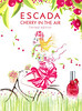ESCADA Cherry in the Air Limited Edition 2013 Spain (handbag size format)