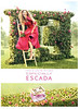 "ESCADA Especially 2012 Spain (handbag size format) - different dress ""Llena tu vida de felicidad"""