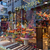 Teuscher Chocolates has locations throughout the world.  Their chocolate stores are a burst of colors and a wide selection of not only chocolates, but other candies and gift baskets as well.