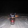 Our first activity was a night snowmobile ride in the forest.  We went about 12km outside of town and into the forest for a couple of hours.