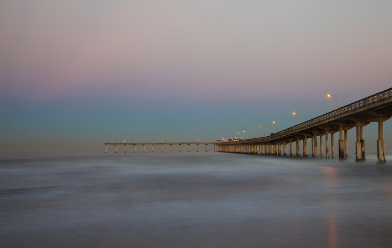 Ocean Beach Pier at dawn