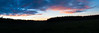 Dawn breaks over the Dixie National Forest. This is a 5 shot panorama in a 1:3 format.
