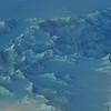 Last lightrays on basaltic mountains, east-central Greenland
