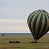 Hot Air Ballon over the Serengeti