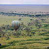 Hot Air Balloon over the Serengeti, Serengeti Nat. Pk. Tanzania 1/04/09