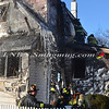 East Farmingdale Fire Co  House Fire Melville Road and Alexander Avenue 2-26-14-30
