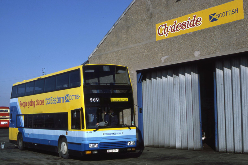 Eastern CLL145 Inchinnan Depot Apr 86
