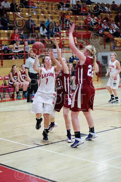 1 L4190799 December 19 2014 Varsity Girl's Basketball Eaton vs Frontier Academy-2