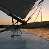 Felucca on the Nile River at Sunset - Aswan, Egypt