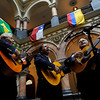 Opening ceremony for Hispanic Heritage month at the City Hall atrium with unfurling of flags, proclamation, etc.