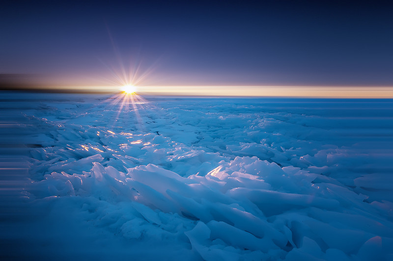 ICE PACKED SUNSET
