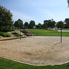 Encinitas park at Leucadia Oaks has a sand volleyball court