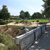 Fun bridge for kids at Leucadia Oaks Park in Encinitas