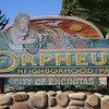 Orpheus Park in Leucadia in north Encinitas