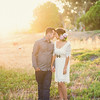 Romantic styled engagement shoot