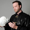 "Monte Hunter portrays Hamlet during the 20th anniversary of Gaslight Theatre's ""Shakespeare in the Park"" June 27-29 at Government Springs Park. Performances, under the direction of David Abbott, begin at 8 p.m. (Staff Photo by BONNIE VCULEK)"
