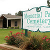 Memorial Park Cemetery, perpetual care since 1928, built a mausoleum in 2009 as part of the cemetery's $1 million improvement. (Staff Photo by BONNIE VCULEK)