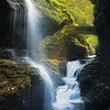 Watkins Glen Gorge Waterfall