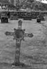 Gamal kross på Vinje kyrkjegard, Hemne
