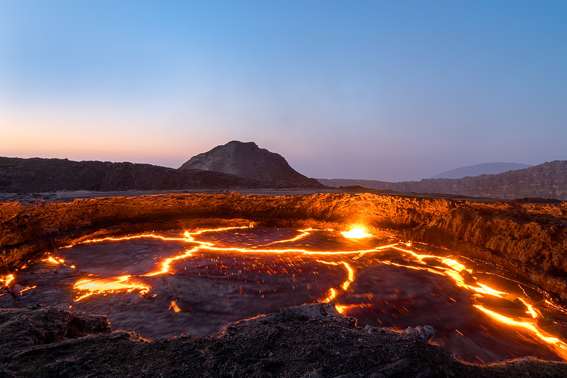 Lines of the Volcano