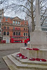 War memorial,oorlogsmonument,monument de guerre,Sloan square,London,Londen,Londres,Great Britain,Groot-Brittannië,Grande Bretagne
