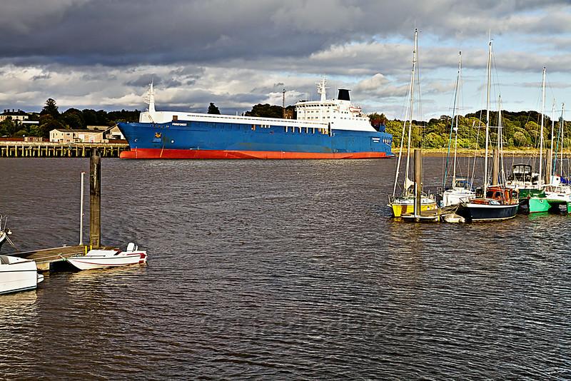 Swedish RORO cargo ship M/S Finnforest
