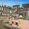 Next it was on to Dresden, surely one of the major success stories of German reunification.