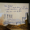 along with reproductions of letters and artwork sent home from the front,