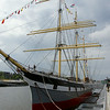 On our first visit to Glasgow we visited the Transportation Museum on the River Clyde, which sports this tall ship...