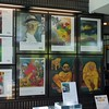 In addition to many of his original paintings being on the museum walls, poster art was everywhere in the store.  Wow!