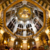 Aachen Cathedral, Fisheye View of Palatine Chapel  - Aachen, Germany