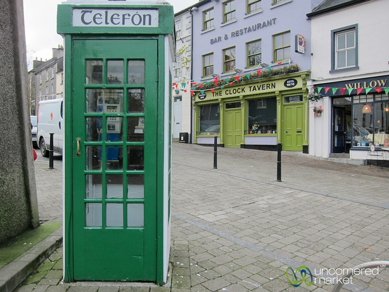 Irish Telephone Booth - Westport, Ireland