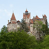 View of Bran Castle from afar - Sighisoara, Romania