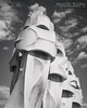 La Pedrera Chimneys