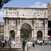 The Arch of Constantinople in Rome, Italy