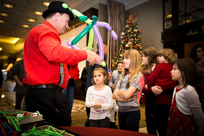 Holiday Party Balloon Animal Demo